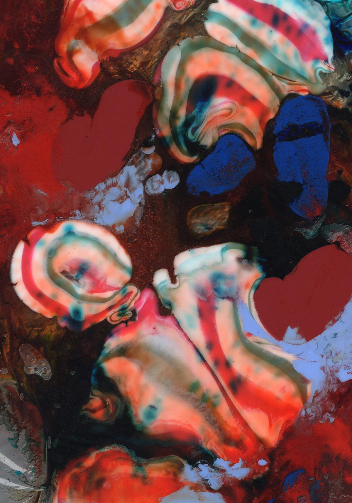 Julia Gruner, Domestic Painting (Odol-med3 Extra White), 2020, Inkjetprint auf Ilford Galerie Prestige Satin Photo Papier, 84,1 x 59,4 cm. Courtesy die Künstlerin und Taubert Contemporary, Berlin