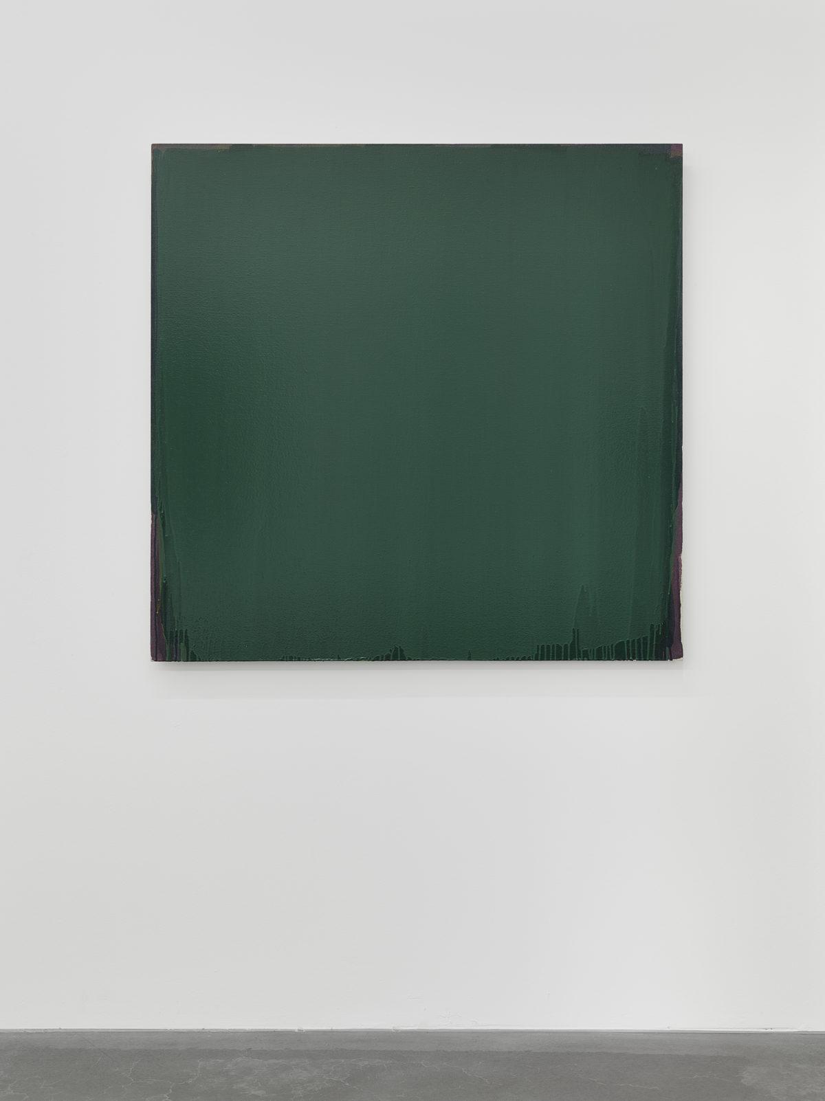 Joseph Marioni, Green Painting, 2006