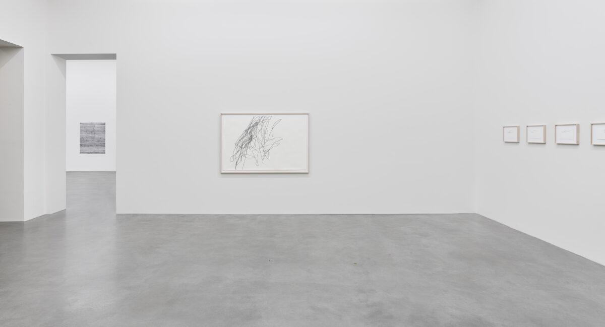 Ausstellungsansicht Spurensuche mit Werken von Karoline Bröckel