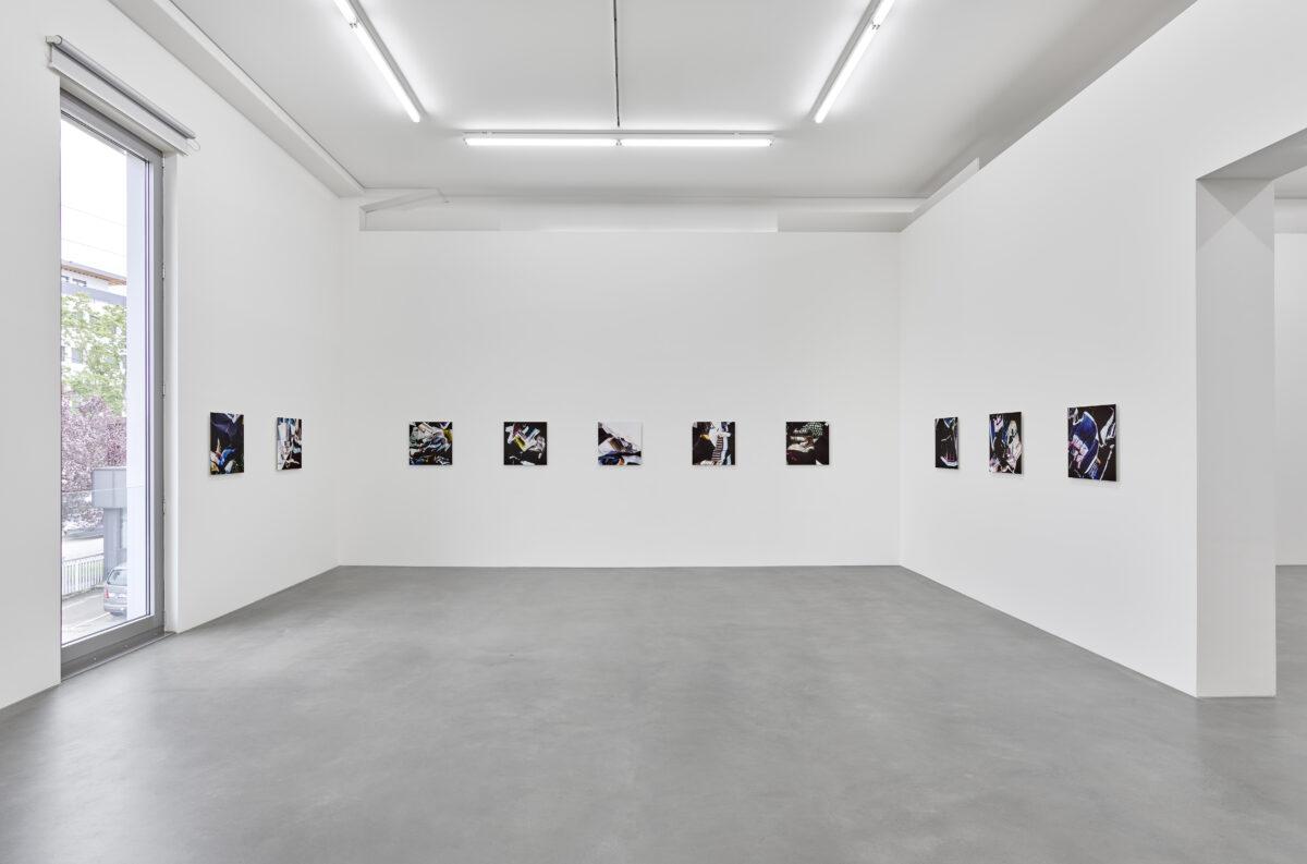 Ausstellungsansicht Spurensuche mit Werken von Simone Demandt