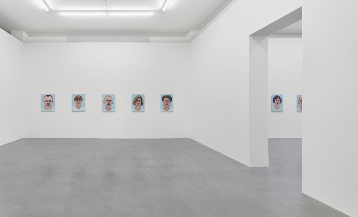Ausstellungsansicht 24.10.1955 - Thomas Kitzinger (2020)