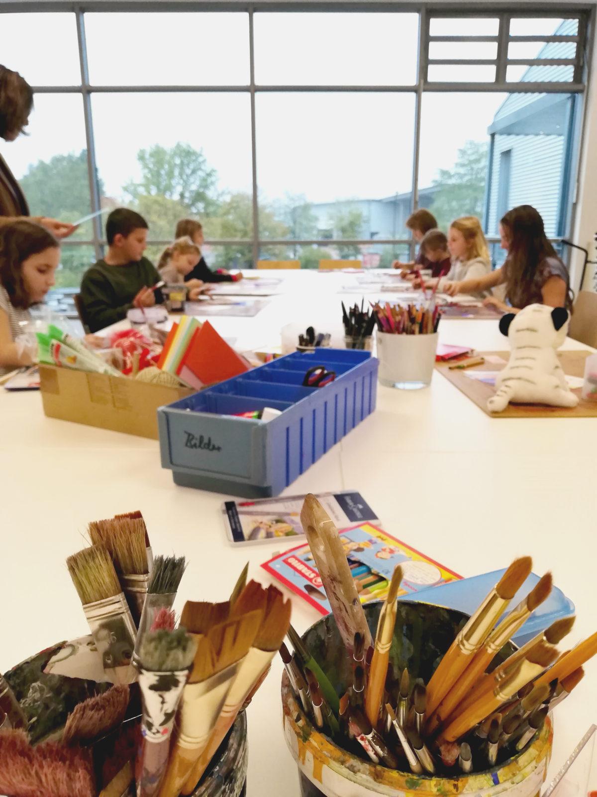 Workshop mit Grundschülern der Johann-Heinrich-von-Landeck Grundschule in Bad Krozingen